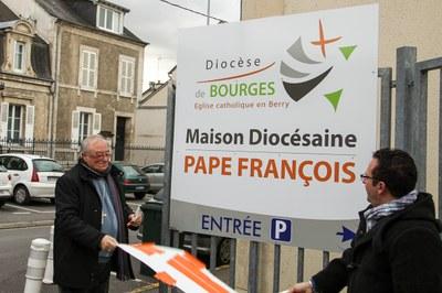 Dévoilement du nouveau nom de la Maison Diocésaine