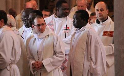 Préparation avant la messe