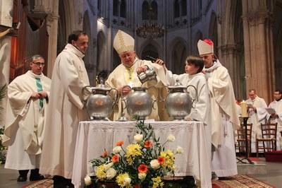 Bénédiction des Huiles Saintes