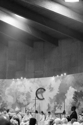07 - Lumière pénétrant dans la chapelle St Paul